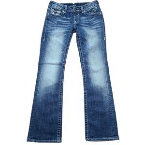 Vigoss the New York boot cut blue denim jeans